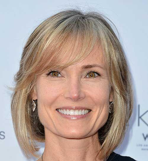 Frisur Rechteckiges Gesicht Reife Frau Google Suche Frisuren
