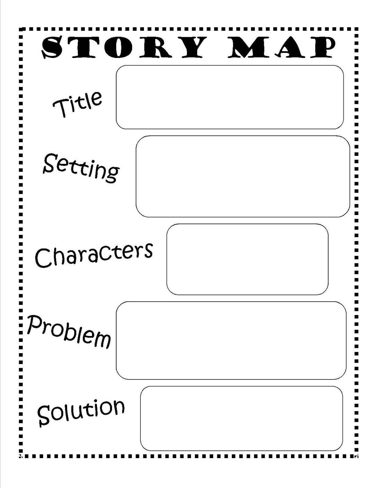 Story Map Template Beginning Middle End Story Map Template Story Map