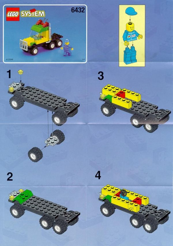 Race Car Lego Instructions - Exploring Mars