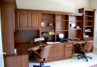 Built-In Desk Unit   Dutch Haus Custom Furniture Sarasota ...