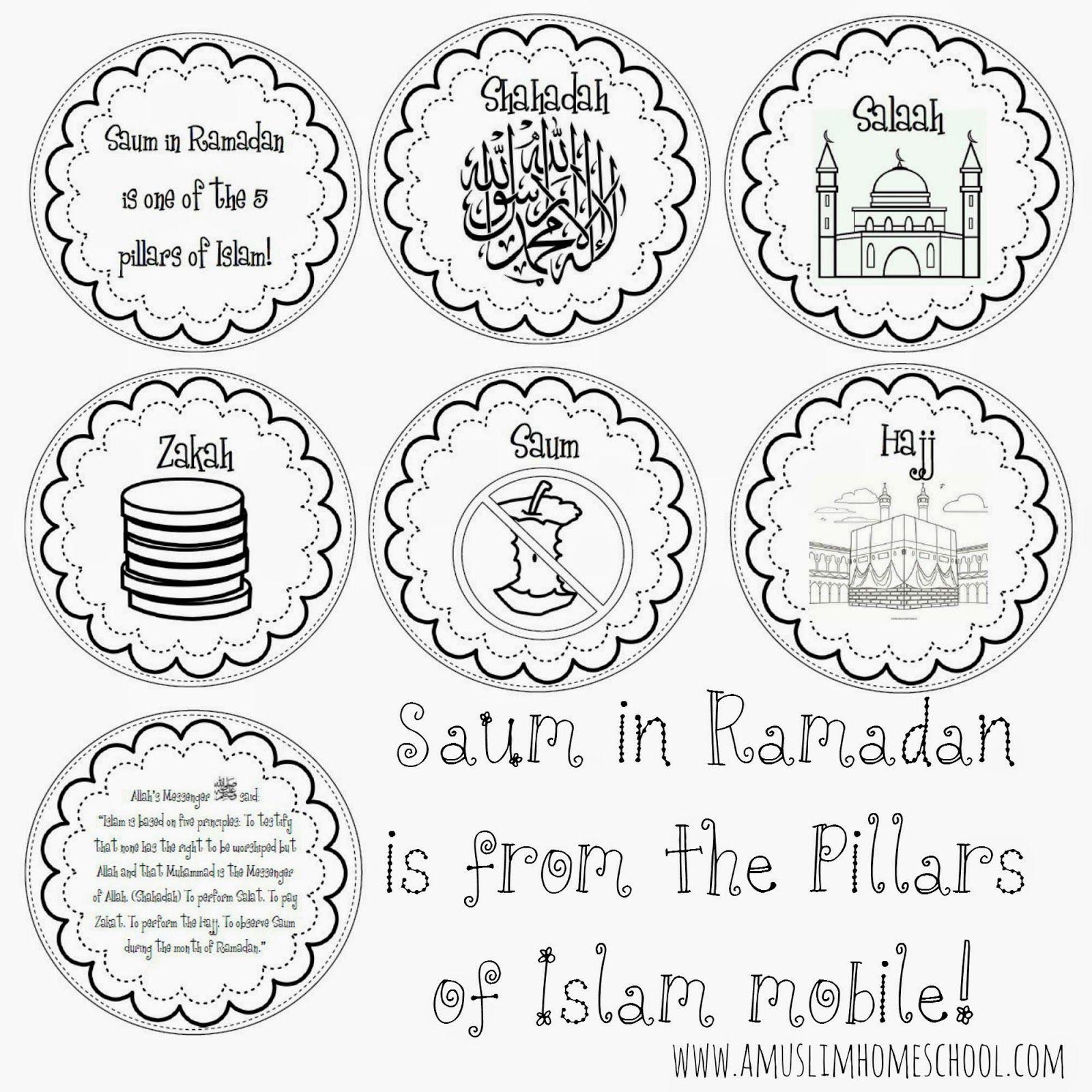 A Muslim Homeschool Saum In Ramadan Is One Of The 5