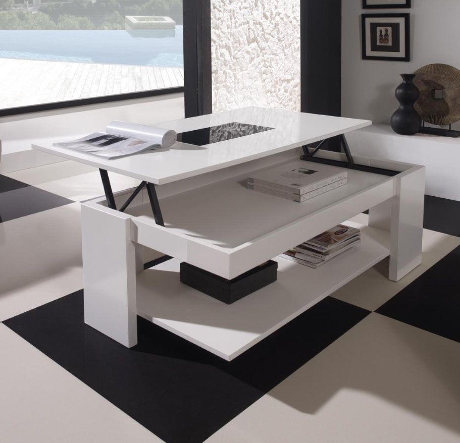 table basse escamotable stand up