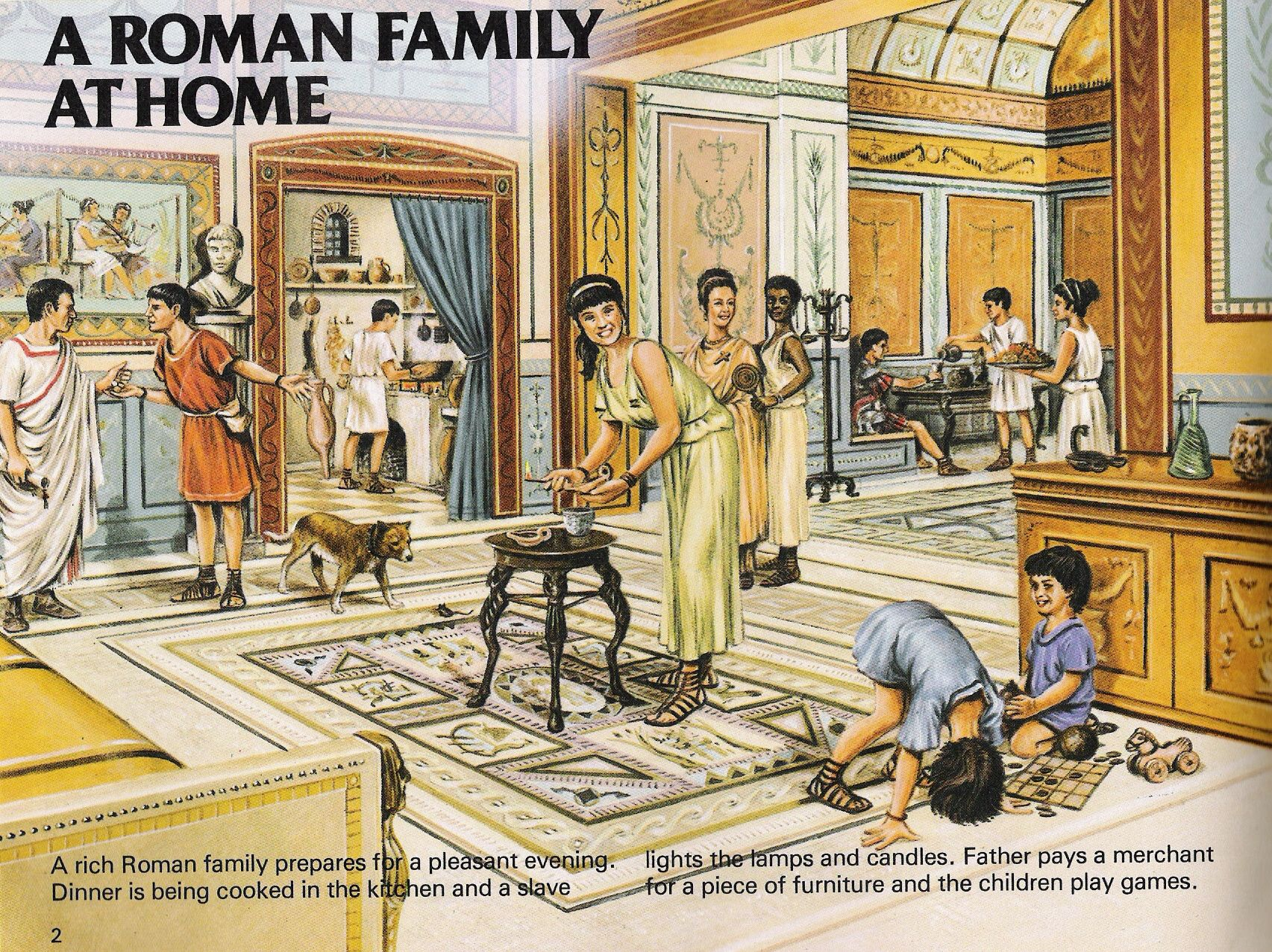 Who Was The Head Of Family In Ancient Rome Ancient Roman