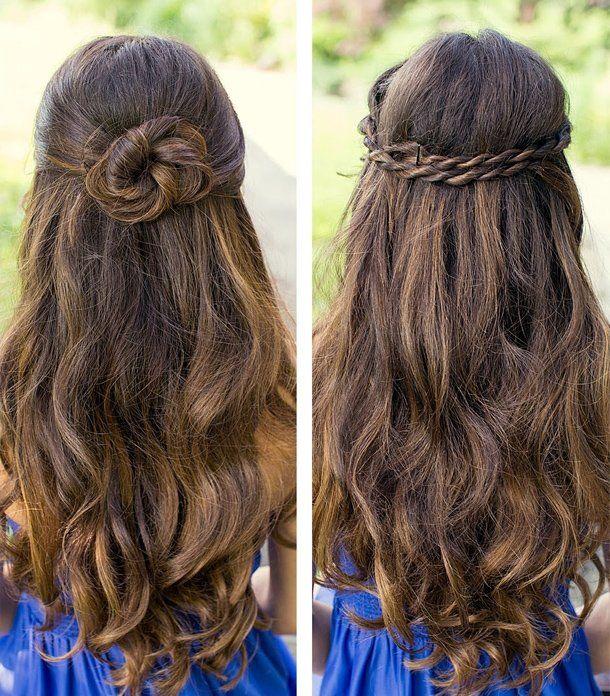 Abschluss Frisuren Für Lange Haare Hair Pinterest