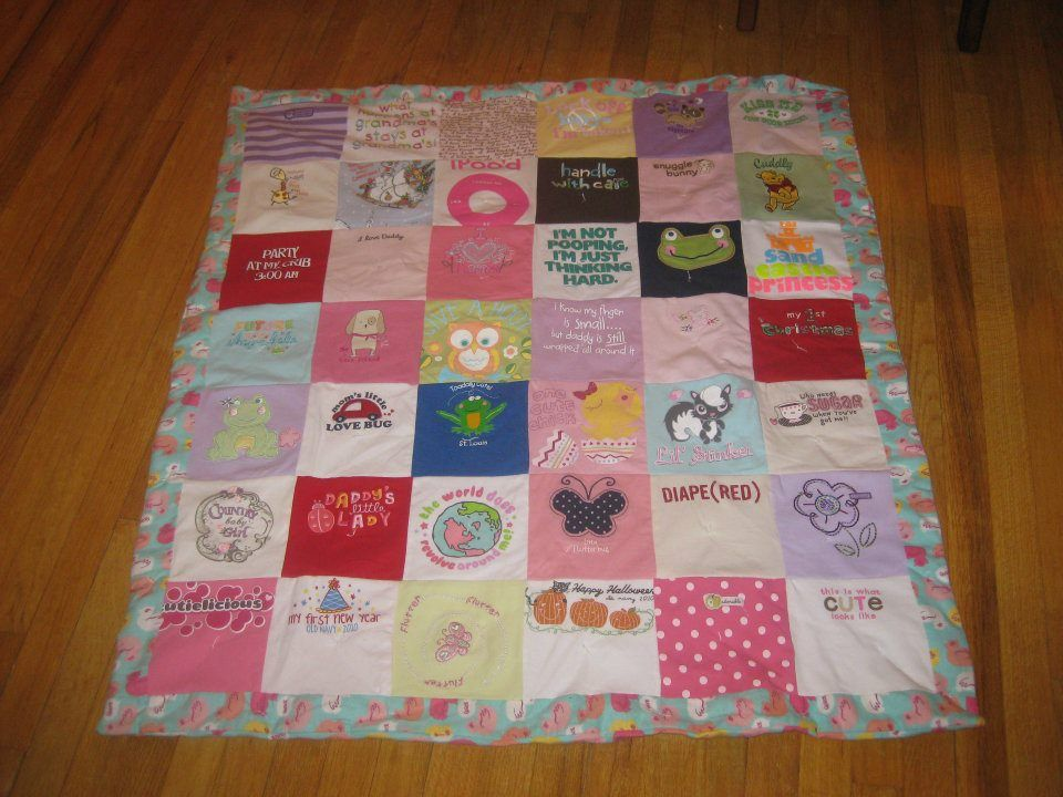 T Shirt Blankets How Make