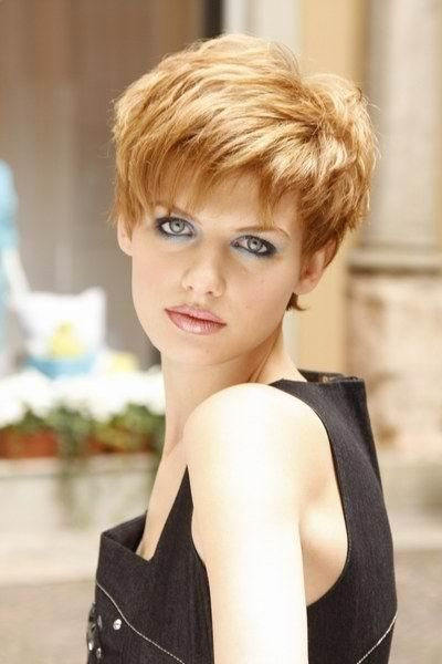 Short Hair Style For Thick Hair Short Hairstyles Pinterest