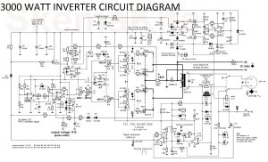 3000 Watt Inverter Circuit Diagram | Proyectos a intentar