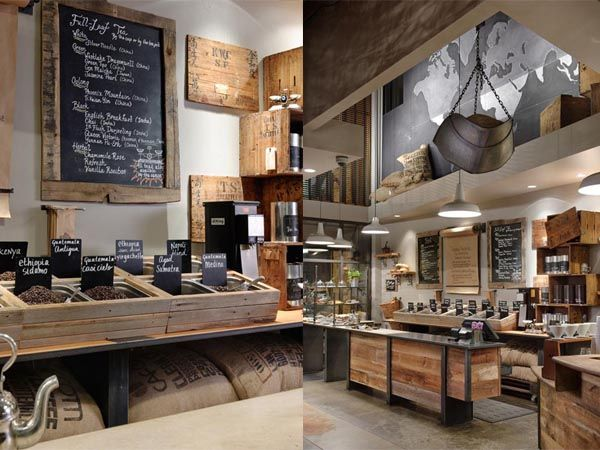 Seattle's 15th Ave Coffee And Tea House Is A Rustic Eco Chic Store