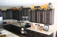 lanterns on top of kitchen cabinets | Decor ideas ...