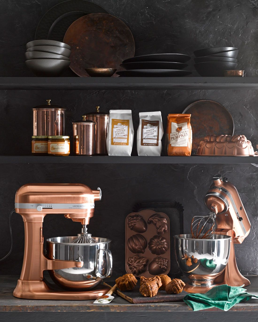 copper kitchen aid mixer cart with granite top crushing on this stand modern heirlooms