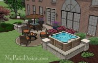 Hot Tub Patio Design | Patio Designs and Ideas | Outdoor ...