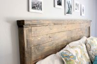 Diy Wood Headboard King Size   Home deco   Pinterest ...