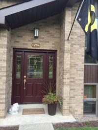 Front Door - Sherwin Williams Rookwood Dark Red   Home ...