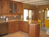 Kitchen Paint Colors With Oak Cabinets I like the back ...