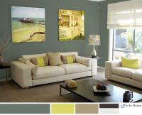 Color Study: Sage Green Living Room Ideas