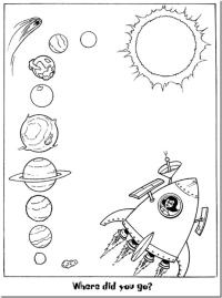 Pinto Dibujos: Sistema Solar para colorear | Planetas ...