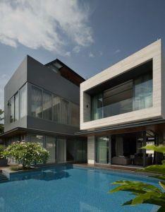 Love this kinda design big pool  all also future modern architecture rh pinterest
