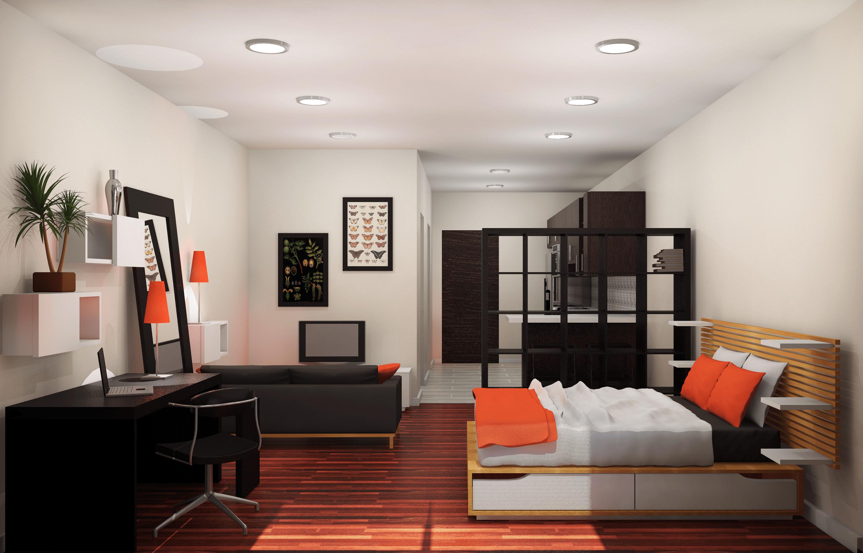Apartment Design Project designed by Sarah Sapowycz  IKEA Apartment  Skillman New Jersey