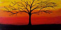 Tree wall painting | Wall Painting | Pinterest | Tree wall ...
