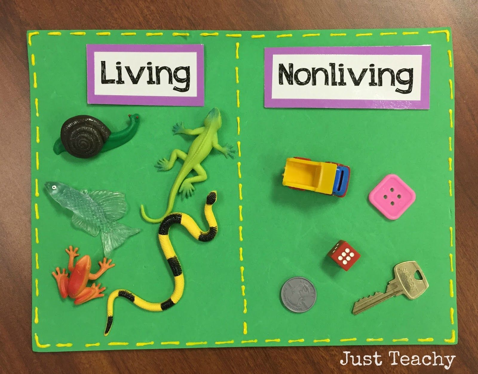Living And Nonliving Sort