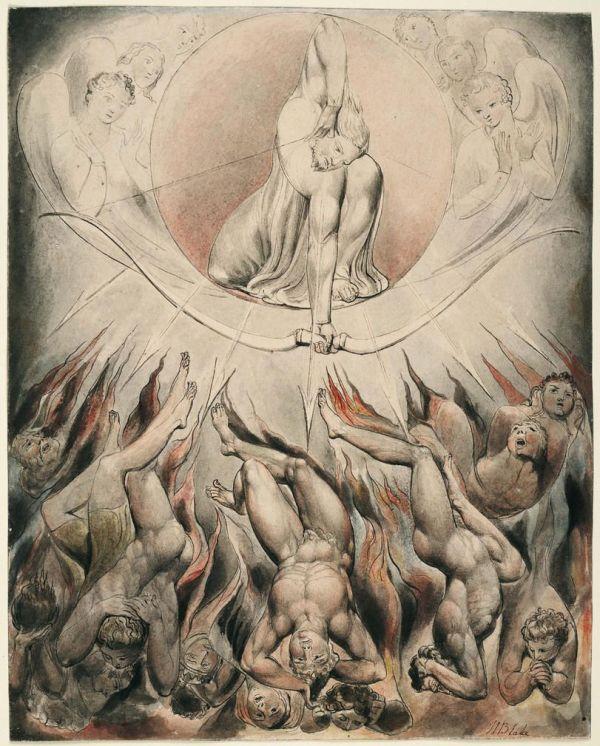 William Blake Mesmerizing Illustrations John Milton