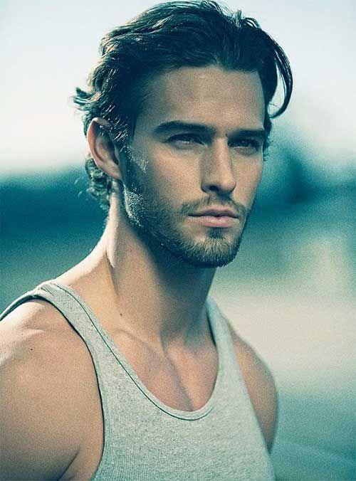 Mens Hairstyles For Thick Wavy Medium Haircuts Men's Medium Hair