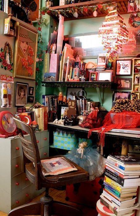 Refined Boho Chic Home Office Design  Boho Gypsy