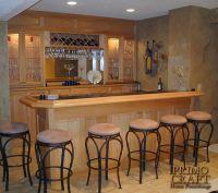 home bars and back bars | McNulty Custom Wood Home Bar ...