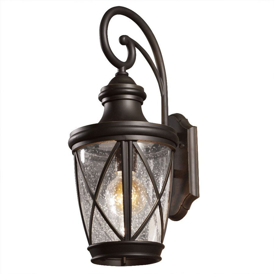 Shop allen  roth Castine 2028in Rubbed Bronze Outdoor