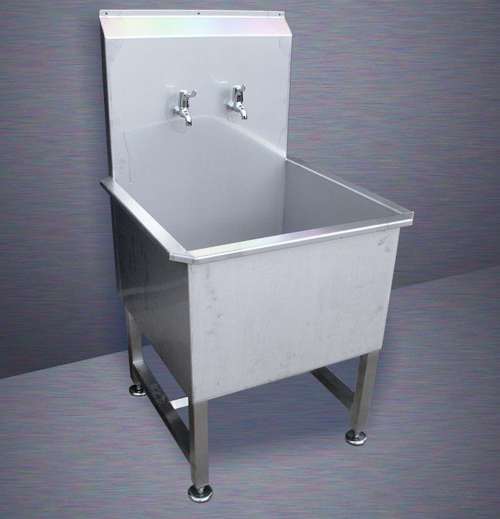 Utility Sink Single Stainless Steel Utility Sink Tack