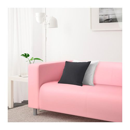 ebay used corner sofa bed circle sofas pink ikea klippan loveseat the cover is easy to ...