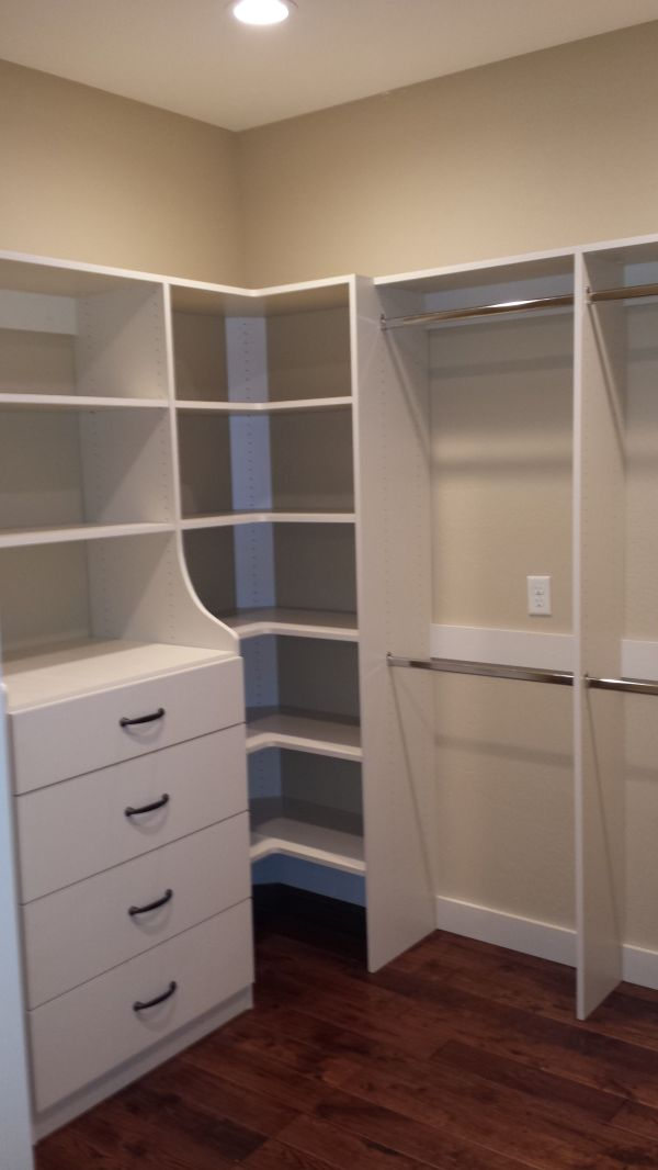 Closet Corner Shelving Units