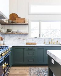 Green kitchen   See this Instagram post by @amberinteriors ...