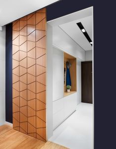 Like the idea of  sliding door in master bathroom mid century modern enjoyed massive surge popularity starting and hasn   left home decor also rh pinterest