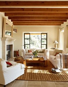 Room also un salon muy acogedor  cozy lounge the floor is stone rh pinterest