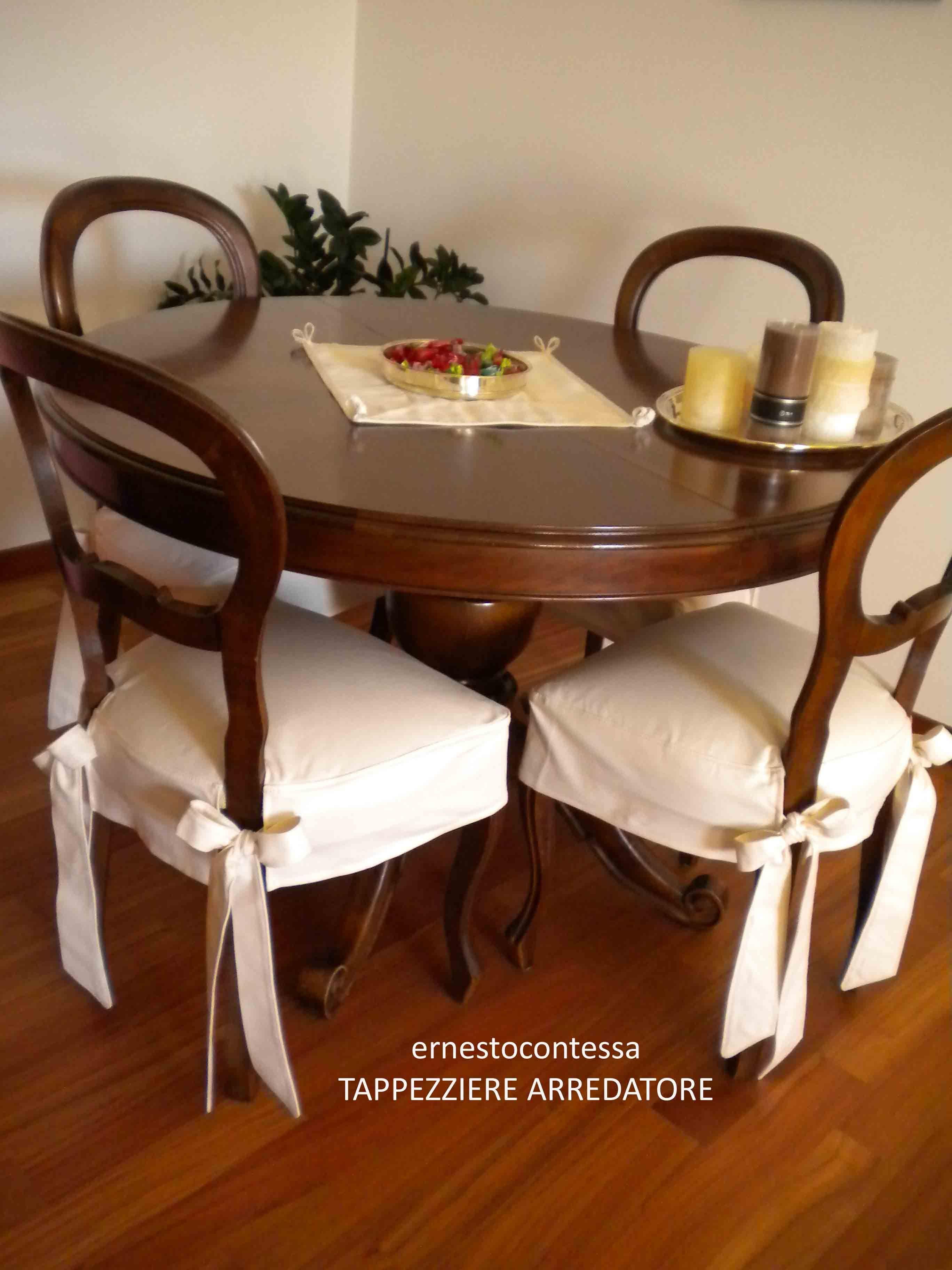 dining chair covers aliexpress coors light with cooler coprisedia con fiocco elegante soluzione per usare sedia