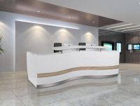 Fabulous Office Reception Area Decor Ideas With Recessed ...