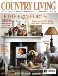 Country Living magazine November 2015 cover countryliving ...