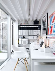 Dreamhost hosting cool office design pictures by studio   home space   aime workspace ideas remodel also dream     pinterest white rh