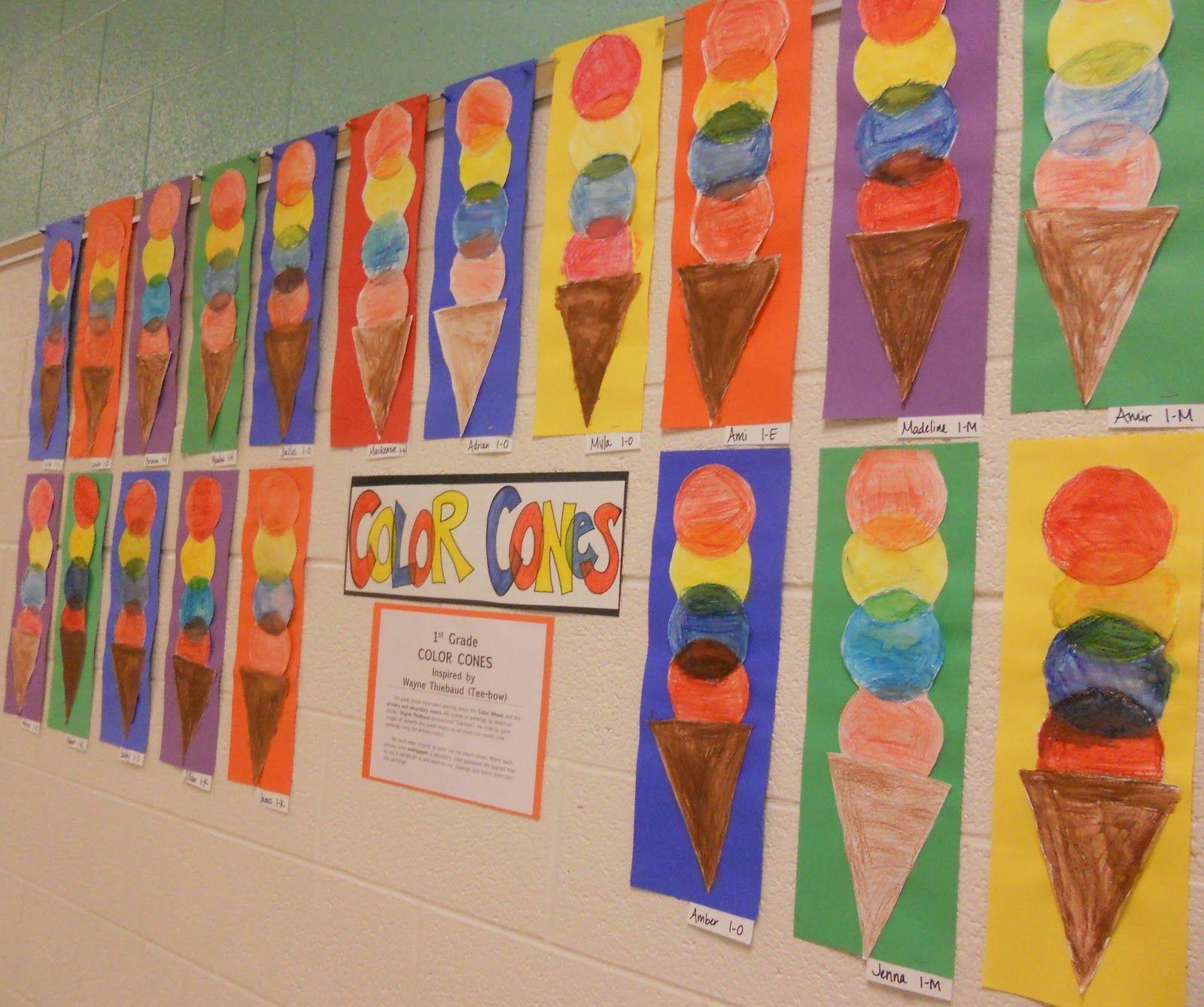 Kindergarten Color Mixing