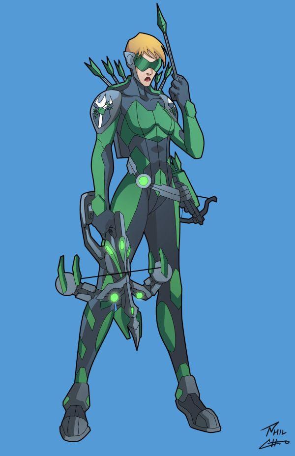 Arrow Commission Deviantart Super Characters