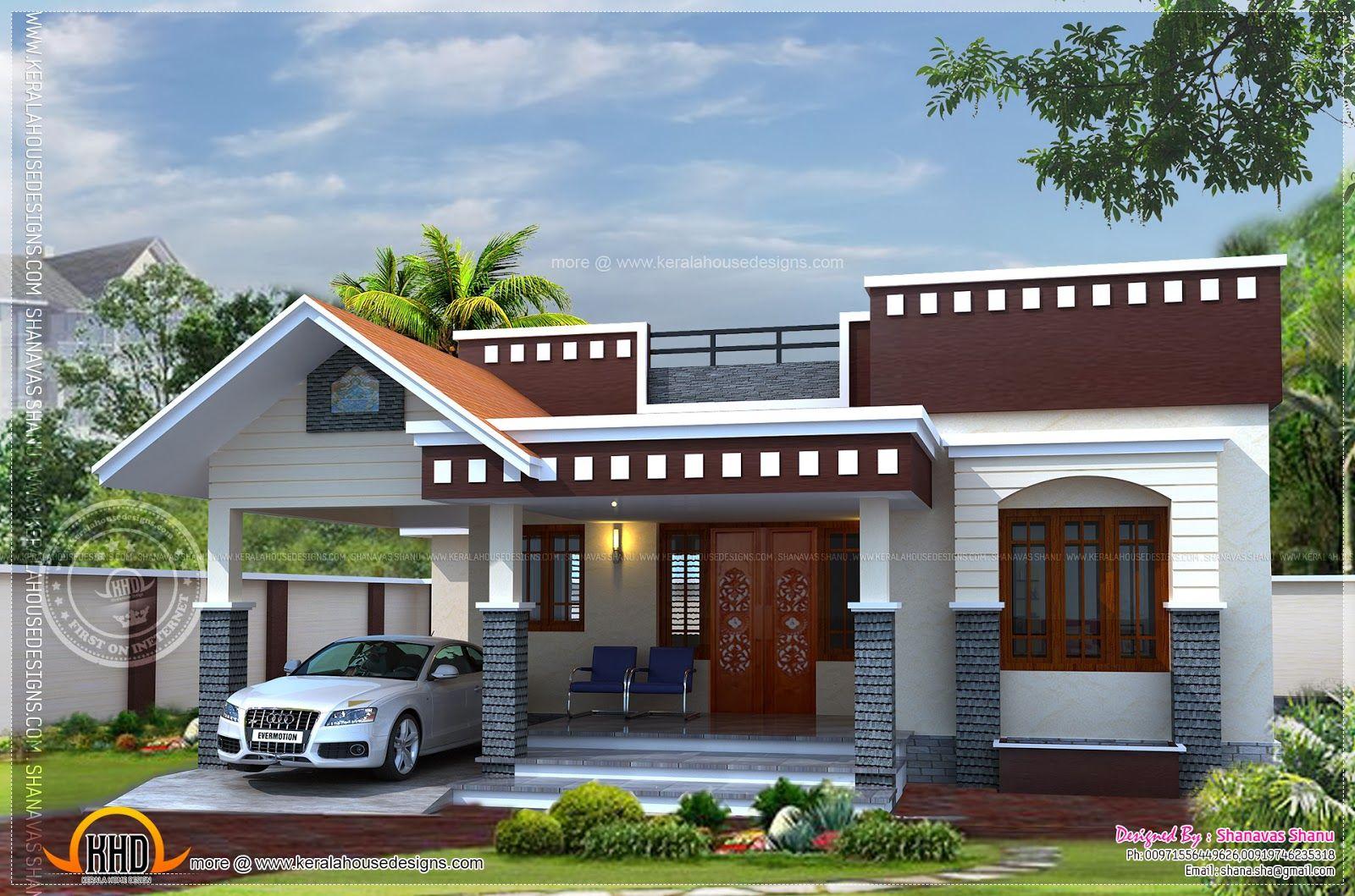Home Plan Small House Kerala Home Design Floor Plans Floor House