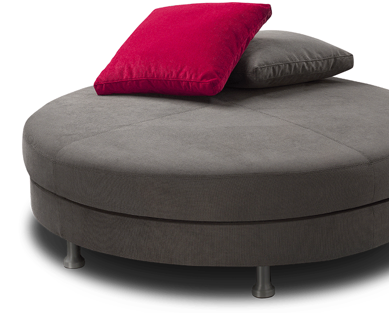 round sofa without backrest