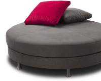 round sofa without backrest