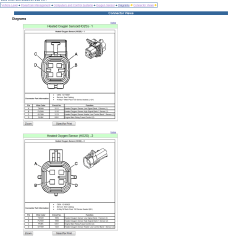 4 Wire Oxygen Sensor Wiring Diagram Johnson Outboard Year Model Identification Gm O2 2005 Chevrolet Cobalt