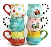 Hand Painted Ceramic Mug - Mix and Match Pottery | Stuff I ...