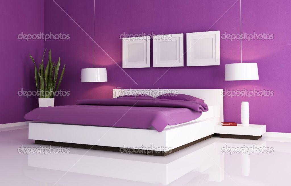 Pics of Purple Bedrooms  Purple White Bedroom Furniture