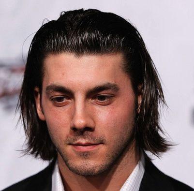 Men Slick Back Long Hair Medium Long Hairstyles For Men Slicked