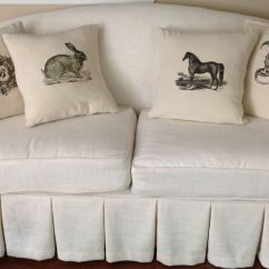 How Much Fabric To Recover A Camelback Sofa Bed Next Day Delivery Uk Annie Compean Mccreary Made This Beautiful Linen