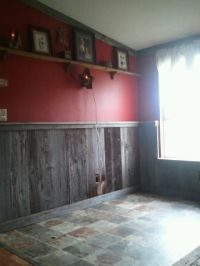 Barnwood room. Just redid my living room and this was how ...
